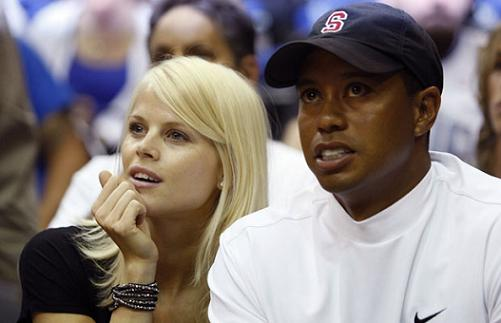 Tigers Woods and Wife Elin in Good Times