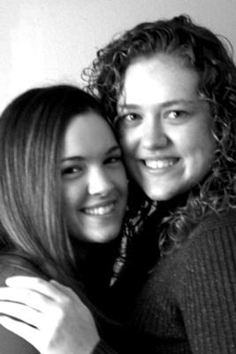 Me and my sister. (im on the left)