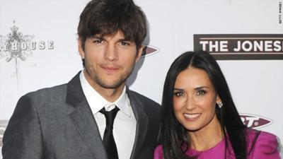 Ashton Kutcher cheats on Demi?